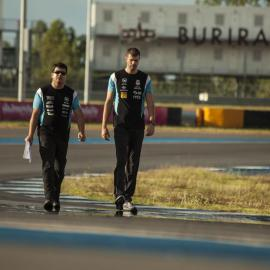 Track walk in Buriram